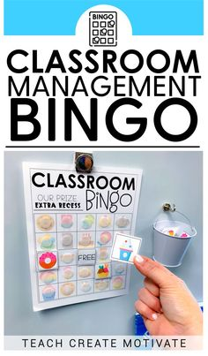 Classroom Bingo is my FAVORITE because it creates instant engagement and buy in, there are so many different themes and boards to keep it interesting all year and it can be used for a whole class, groups or individual students. #classroommanagement #classroombingo