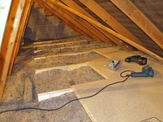 Diy 3 attic insulation methods to seal in savings pinterest describes the do it yourself installation of of sheeps wool loft insulation into an ordinary 5 bed home in the uk solutioingenieria Images