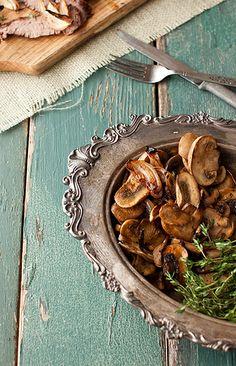 Buttered Mushrooms~