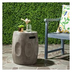 Zuri Round Concrete
