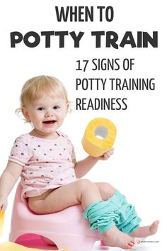 When to Potty Train. 17 Signs of Potty Training Readiness When to Potty Train. 17 Signs of Potty Training Readiness Parenting Toddlers, Kids And Parenting, Parenting Hacks, Parenting Plan, Parenting Styles, Gentle Parenting, Toddler Shows, Best Potty, Toddler Potty Training