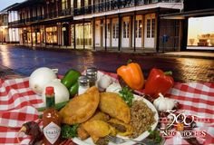 Natchitoches is famous for the Meat Pie, a pastry filled with beef and secret spices!