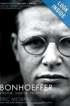 Anyone who votes and/or is a Christian must read this book! Both the history of how Hitler rose to power while people rolled over and let him and how Bonhoeffer lived out his faith (while lying to the Nazi's) where both interesting and relevant to everyone's life.
