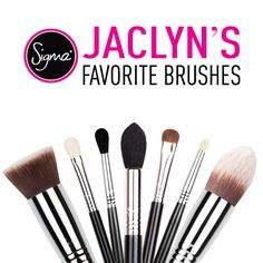 My Favorite/Must Have Sigma Brushes - Jaclyn Hill - http://www.sigmabeauty.com/Brush_Collections_s/288.htm