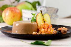 Das aromatische Espresso-Pannacotta und das leichte Apfeltatar gehören zu unseren liebsten Dessertkombinationen.