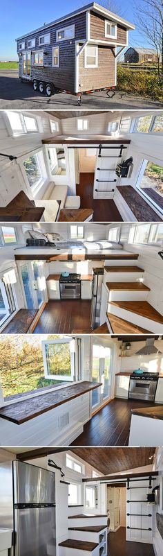 A custom tiny home from Canadian-builder, Mint Tiny House Company. ❤❤❤❤❤❤❤❤❤❤❤❤❤❤❤❤❤❤❤❤❤❤❤❤❤❤❤