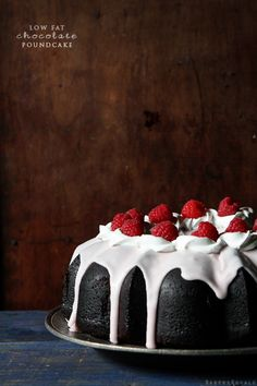 """""""Low Fat Chocolate Pound Cake (made with 4% cottage cheese)"""" - not sure if it's really low fat, but chocolate and pound cake in the same sentence is just irresistible! :D"""