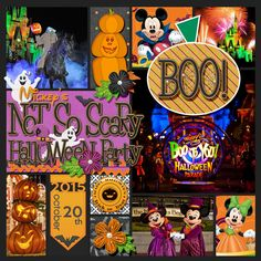 Mickey's Not So Scary Halloween Party All by Kellybell Designs: Pocket Story Vol. 2 Templates Simple Dates Vol. 15 Happy Haunting with a few pumpkins from Harvest Fun