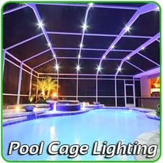 Private Screens and Pool Enclosure Lighting T&a Bay Ocala  Orlando  West Palm and  sc 1 st  Pinterest & Bright Ideas LED in Stuart Florida offers a complete ready to go ... azcodes.com