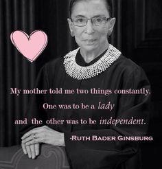 . Ruth Bader Ginsburg, Strong, Inspirational, Lady, Women, Woman