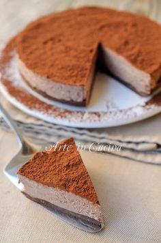 Torta africana fredda dolce veloce senza forno vickyart arte in cucina