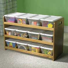 Organização de brinquedos 1
