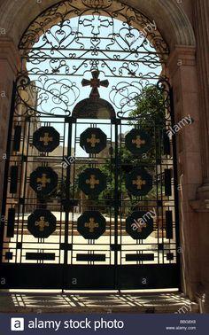 Gate to the catholic church Damascus Stock Photo Damascus, Syria, Athens, Catholic, Gate, Army, Stock Photos, Illustration, Gi Joe