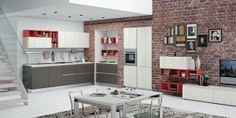 Ank: bellissima e funzionale, il giusto equilibrio tra #cucina e #living #creokitchens #CREO #arredamento #home