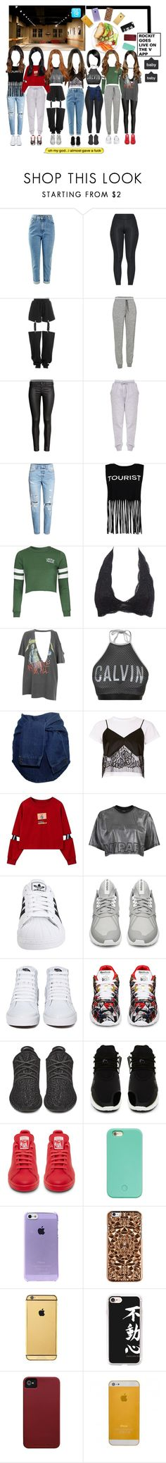 """""""«LIVE ON THE V APP» ROCKIT"""" by cw-entertainment ❤ liked on Polyvore featuring Puma, Icebreaker, Boohoo, Topshop, Charlotte Russe, And Finally, Calvin Klein, Michelle Mason, adidas Originals and adidas"""