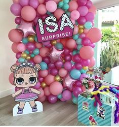 The Effective Pictures We Offer You About Lol Surprise Dolls Party Ideas luxe A quality picture can tell you many things. You can find the most beautiful p 7th Birthday Party Ideas, Birthday Party Decorations, Girl Birthday, Surprise Birthday, Lol Doll Cake, Doll Party, Lol Dolls, Party Planning, Balloons