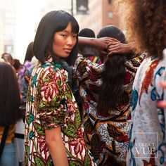 Fashion show on the street by #xulybet  @streetvues | streetvue.co  #newyork #nyfw #ss16 #womenswear #fashion #womensfashion #womenstyle  #street #style #streetstyle #nofilter