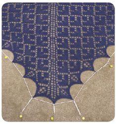 Blocking lace | Knit Picks Tutorials