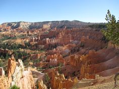 Bryce Canyon from Sunrise Point [OC] x landscape Nature Photos Earth Photos, Nature Photos, Bryce Canyon, Grand Canyon, Famous Last Words, Wilderness, Places To Go, Sunrise, Scenery