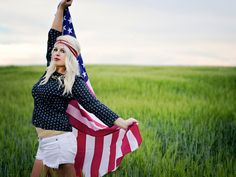 Fourth of July Inspired Photo Shoot  4th of July