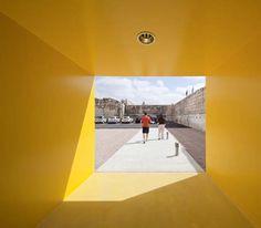 Visão de dentro do Cubo Amarelo ♥
