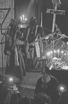 Black metal band Behexen.