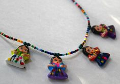 Little Indita's Necklace  Guatemala Necklace by TheMayaMarket