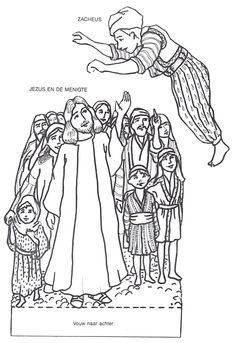 Luke 19 Story Of Zacchaeus Kids Spot The Difference Can