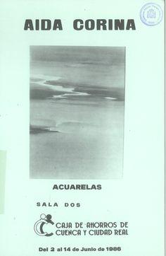 Aida Corina expone acuarelas en la Caja de Ahorros de Cuenca y Ciudad Real Junio 1986 #CajaAhorrosCuenca #Cuenca #AisaCorina