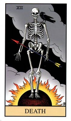 Did you know that Tarot cards are not just of the Wicca religion? Learn how Tarot cards originated, how to make a spread and the art of reading, and what all the cards symbolize. Tarot Death, La Danse Macabre, Tarot Tattoo, Illustration Art, Illustrations, Arte Horror, Major Arcana, Oracle Cards, Archetypes