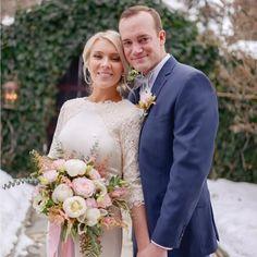modern-modest-wedding-dress-three-quarter-sleeves