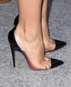 Sexy Legs And Heels, Hot High Heels, Womens High Heels, Stiletto Shoes, Pumps Heels, Talons Sexy, Extreme High Heels, Beautiful High Heels, Christian Louboutin Heels