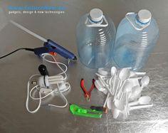 Hur gör man en egen lampskärm lätt? Taklampor, ljuskronor, återvunnet, plastskedar