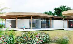 Arquitetura Sustentavel: Casa autossuficiente em Niterói dispensará redes e...