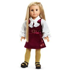 American Girl® Clothing: Julie's Christmas outfit