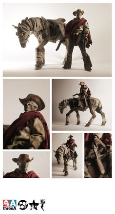 ghost horse & blind cowboy with 9 revolvers. enough arms ?