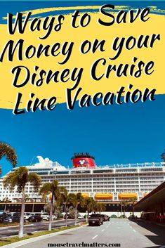 how to save money on a Disney Cruise vacation. Learn easy Disney Cruise Money Saving Tips to help save money on your next Disney Cruise. Disney World Planning, Disney World Vacation, Disney World Resorts, Cruise Vacation, Disney Vacations, Cruise Tips, Disney Travel, Disney Destinations, Family Vacation Destinations