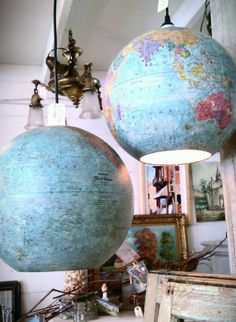 2. Globe lamps