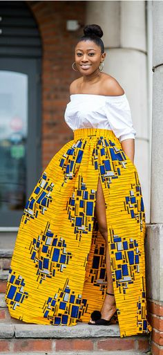 The Absolute Best African styles + Where to Shop African Fashion You can never have too many African print clothes. This is a roundup of the absolute best African styles right now plus details on where to get them. African Print Dresses, African Fashion Dresses, African Dress, Fashion Outfits, African Prints, African Style Clothing, Fashion Styles, African Clothes, Fashion Hacks