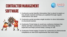 SheqPortal, A Contractor management software company that designed software for general contractors. Manage your contractor information simply and easily.