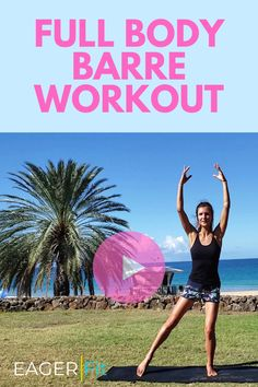 Full body barre workout that will keep you n shape. Click the link to access full video. Fun Workouts, At Home Workouts, Body Workouts, Barre Workout, Cardio Barre, Boxing Workout, Total Body, Full Body, Low Impact Workout