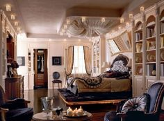 Resultado de imágenes de Google para http://www.distroarchitecture.com/wp-content/uploads/2011/07/Beautiful-and-Pleasant-Glamorous-Bedroom-Decoration-Style-with-Wonderful-Ceiling1-590x439.jpg