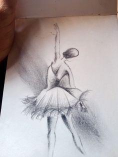 Ballerina Sketch, Sketches, Art, Drawings, Art Background, Kunst, Performing Arts, Doodles, Sketch