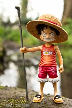 One Piece - Gol D. Zoro One Piece, One Piece Anime, Model One, Figure Model, Figurine One Piece, One Piece Seasons, Action Figure One Piece, Mugiwara No Luffy, Nike Headbands