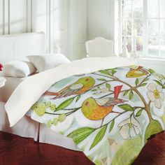 DENY Designs Home Accessories | Cori Dantini Community Tree Duvet Cover on Wanelo