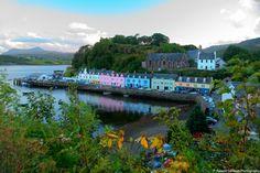 Portree Harborside, Isle of Skye, Scotland