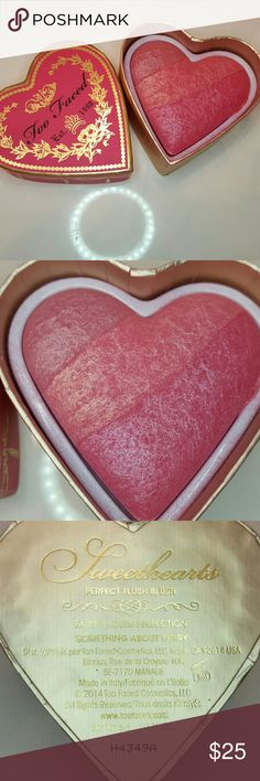 Too Faced Sweethearts Blush-Something About Berry Too Faced Sweethearts Blush   *  something about berry   *  no box   *  gently loved    *  as is   *  smoke free and pet free home Too Faced Makeup Blush