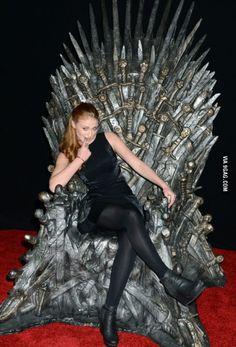 Brace yourself... Sansa's sex scene is cumming