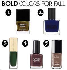Health & Beauty :: Elle's Fall Nail Polish Colors