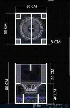 skema gambar box speaker planar
